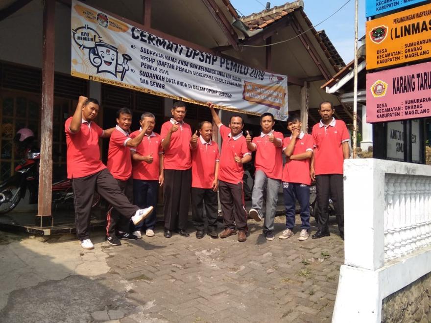 Image : Jum'at Sehat Bersama Perangkat Desa (persiapan Bulu tangkis)